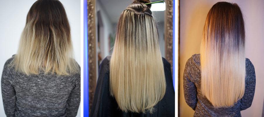 Haarverlängerung-Ombre