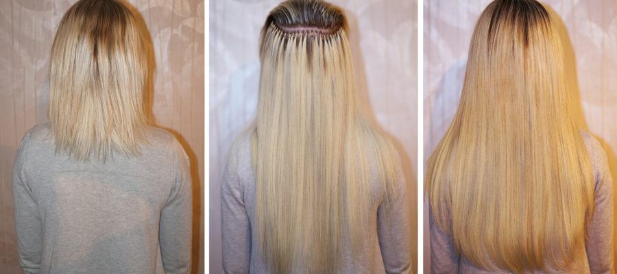 Haarverlängerung_brasilianische Methode